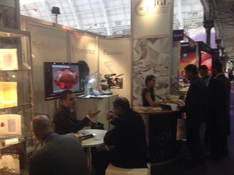 Diamond Exhibition 2012 ITALY